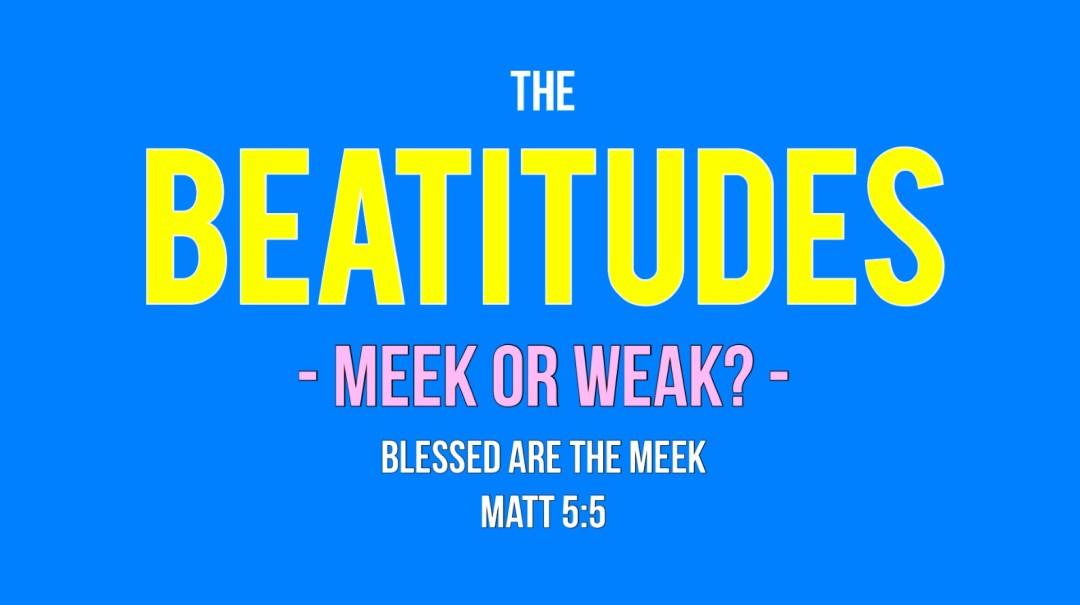 Meek or Weak Art Work