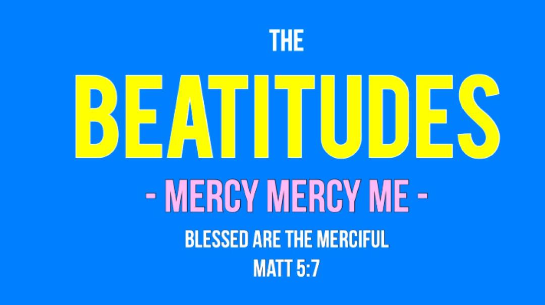 Mercy Mercy Me Art Work