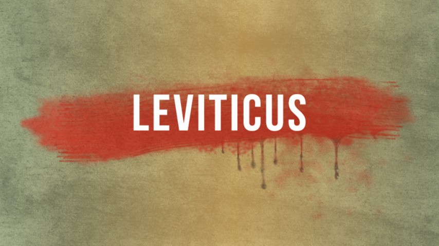 Leviticus part 1: When God Moves In Art Work