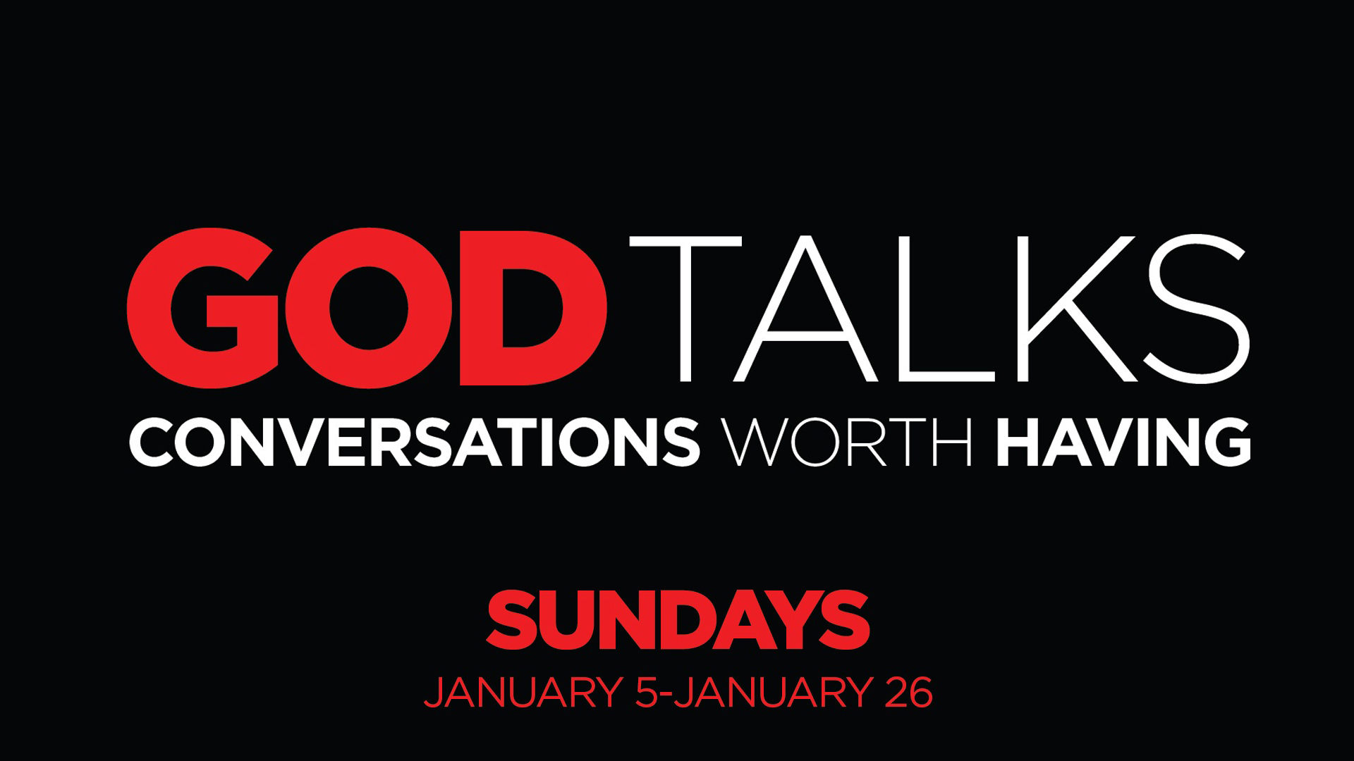 God Talks: Conversations Worth Having - 2020/01/12 (8) Art Work