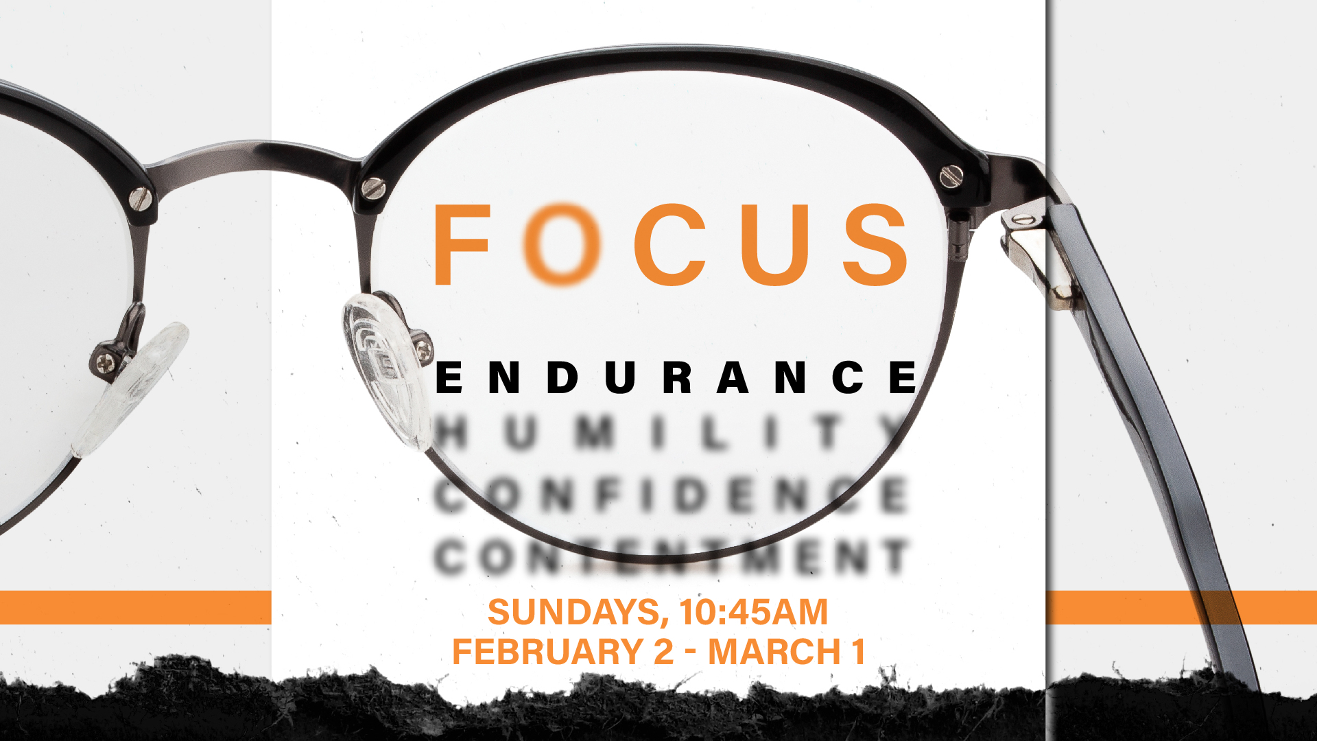 Focus: Endurance, exploring how we can press on when we feel pressed down.  Art Work