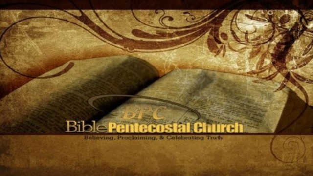 Audio Sermons | Bible Pentecostal Church